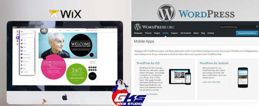 WordPress або Wix - Детальне порівняння.