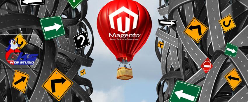 Что следует помнить при создании сайта на Magento