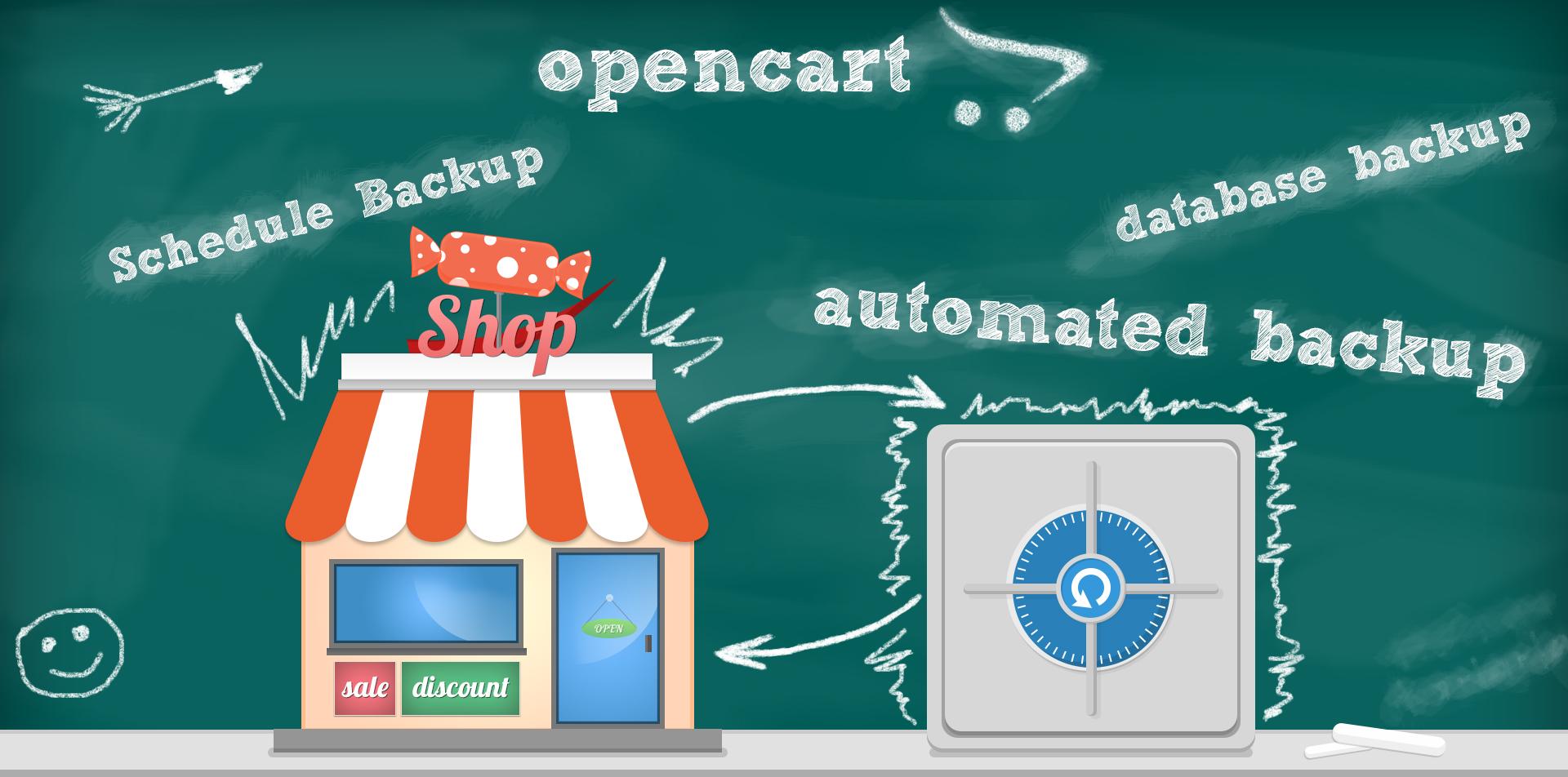 Create an online shop on OpenCart