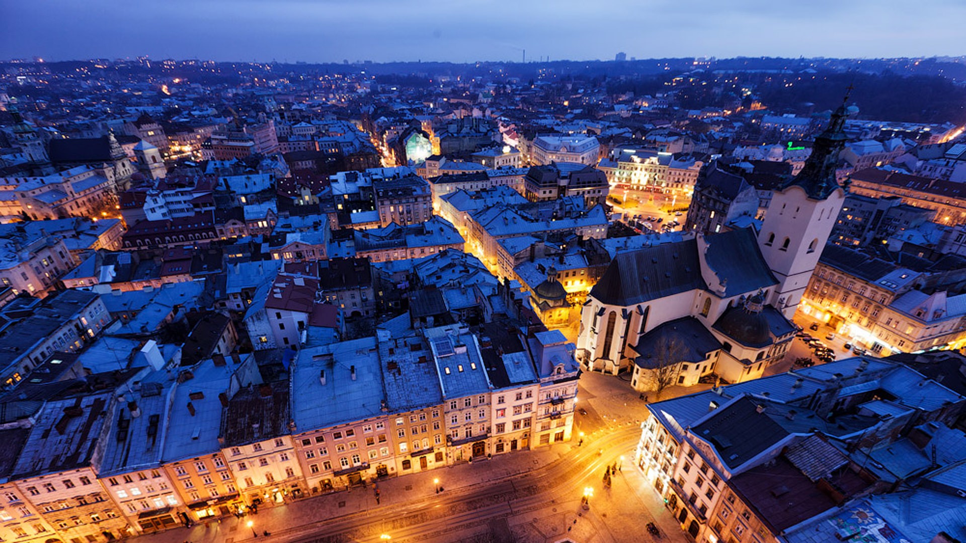 Creation and promotion of sites in Lviv