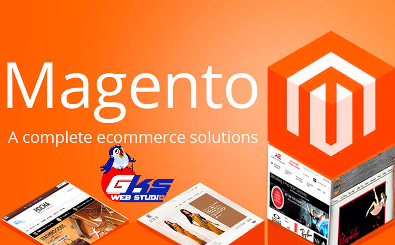 Create an online store on Magento